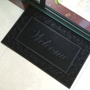 Indoor Outdoor Welcome Entrance Rugs Door Mats Doormats Rubber
