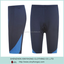 OEM custom polyester& cotton dry fit sport tight running shorts for men