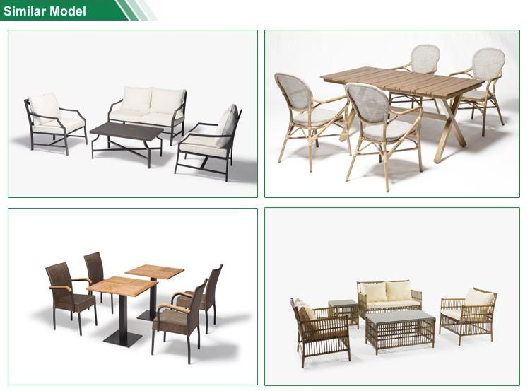 De Lujo Al Aire Libre Muebles Mirada De Bambú Ratán Sofá De Jardín ...