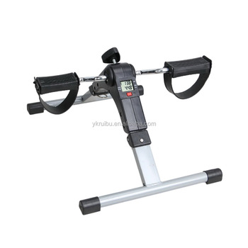 New Mini Hand Foot Exercise Bike Essential Medical Supply Portable Pedal  Exerciser With Meter