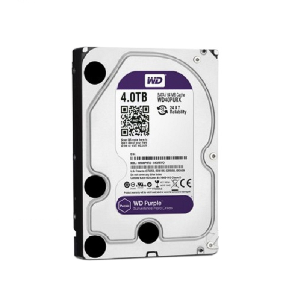 WDHDD 4 TB CCTV di sicurezza hard disk utilizzato su NVR video storage hard disk drive
