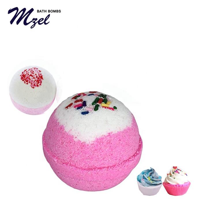 Handmade Spa Bombs Fizzy befeuchtet trockene Haut Geschenkset Multicolor Bath Bomb