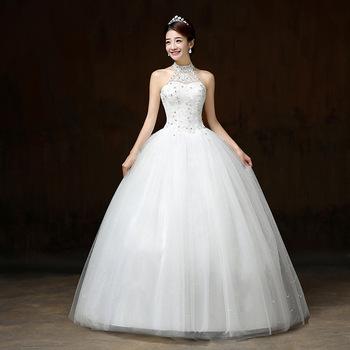 Zh0415q New Korean Halter Princess Puff Imperial Bridal Gown Buy Bridal Gown 2013 Beautiful Princess Bridal Gown Imperial Bridal Gown Product On