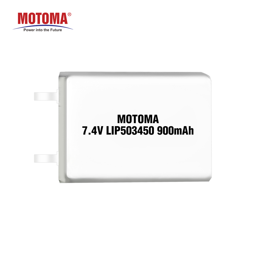 Li Ion Polymer Battery Pack 74v 900mah Lithium For Breast Pump