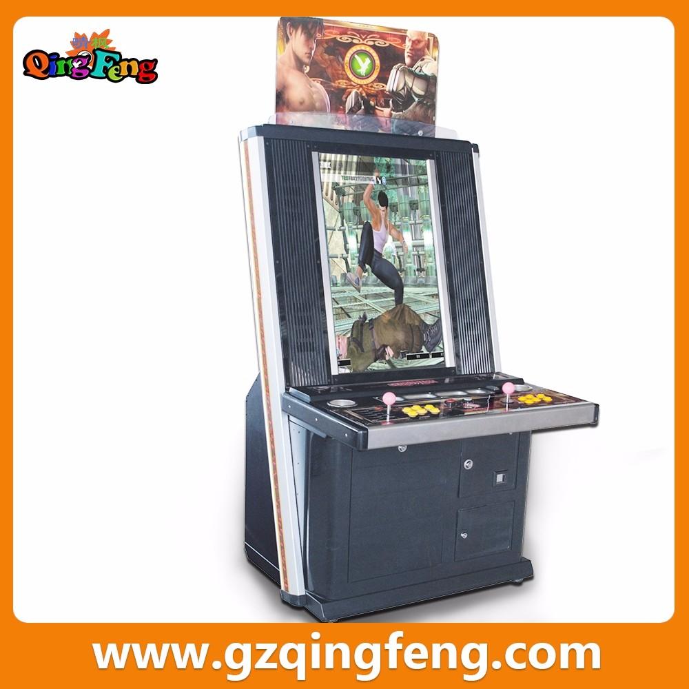 Qingfeng Cheap Arcade Game Machine Card Reader Video Games ...