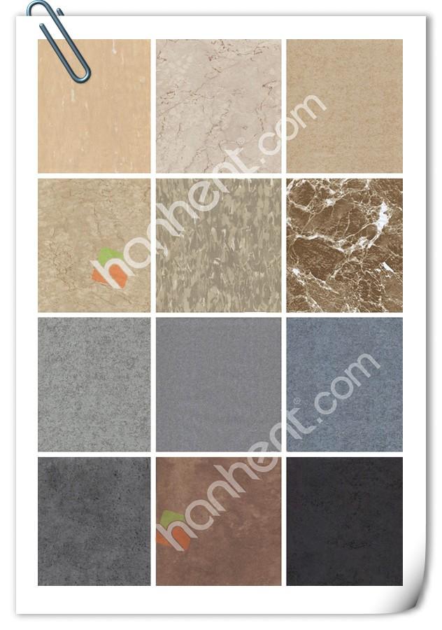Kitchen use square marble pattern vinyl pvc tile buy for Vinyl square floor tiles