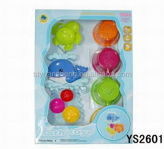 2018 New Baby Bath Toys Safe and Eco-friendly Material Baby Bath Toy