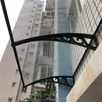 Dengan Harga Murah Poly Karbonat Diy Overhead Pintu Jendela Balkon