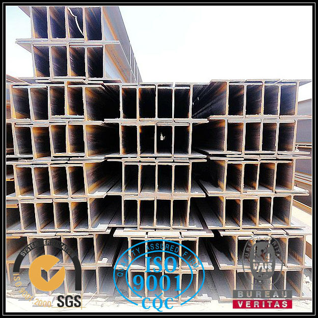 Hot rolled structural steel weight chart for h beam