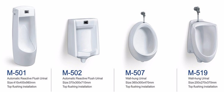 Small size ceramic corner wall mount mini urinal for sale