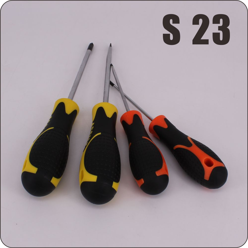small pp+TPR material phillips screw driver salable hand tools sets 3'' 4'' 5' screwdriver