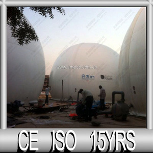 Amoco Double Membrane Biogas Storage Equipment for biogas project in India