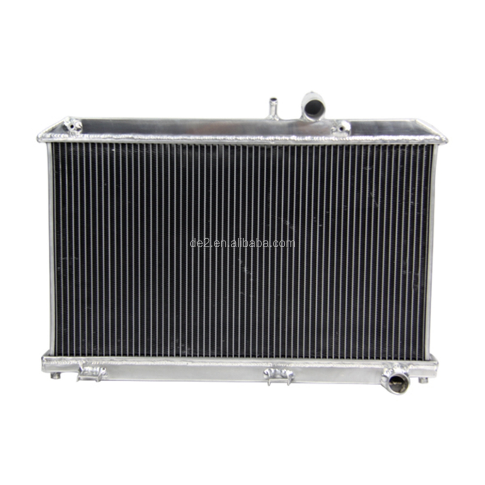 high performance aluminium car radiator for MAZDA RX8 2004-2008
