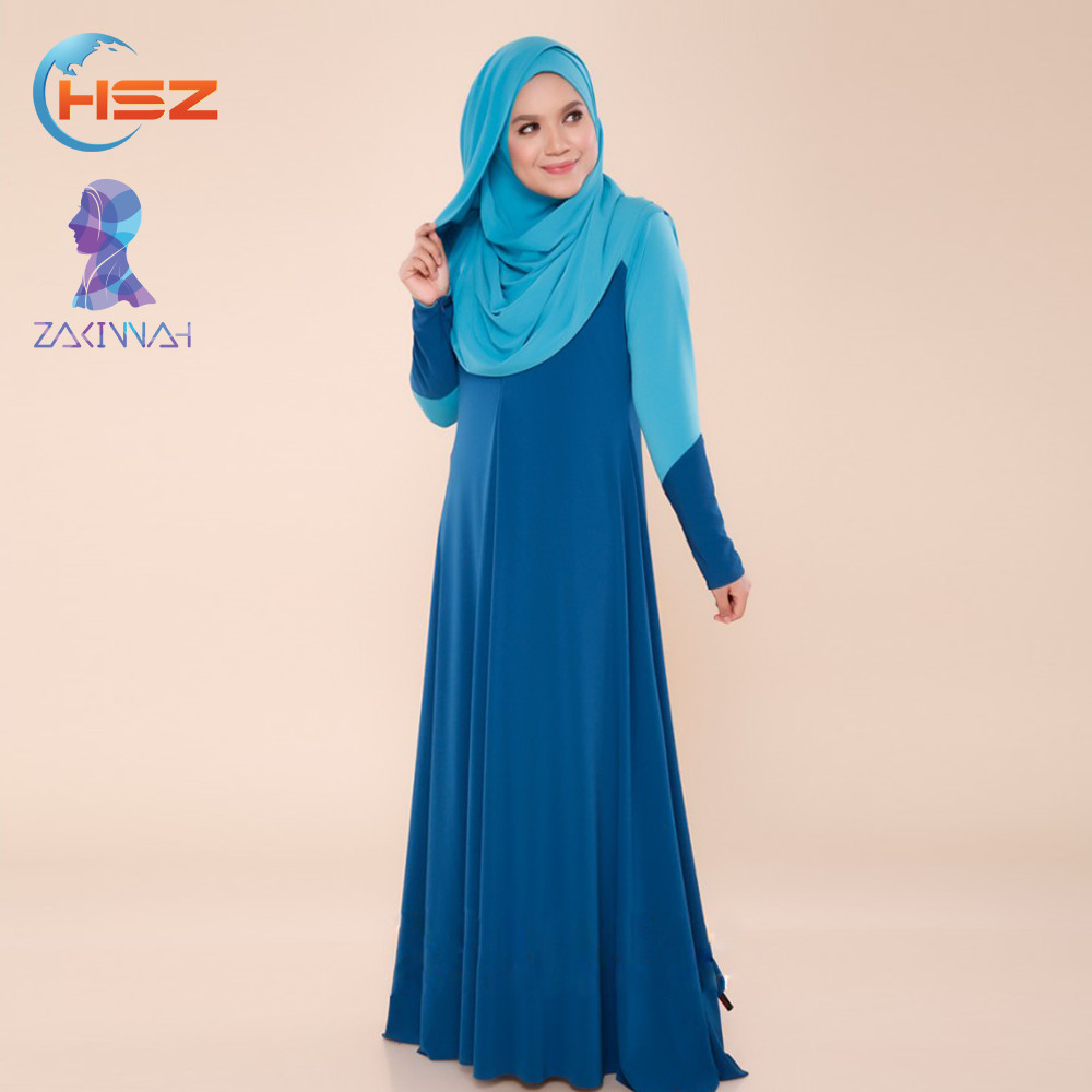 Zakiyyah A023 Egyptian Long Fancy Dress Muslimah Women Clothing