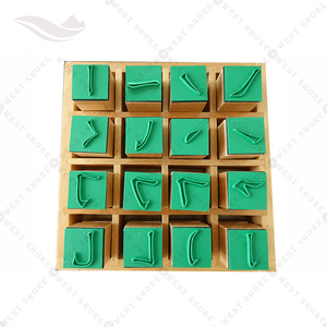 Montessori materials in China language teaching aids for study toys Chinese character