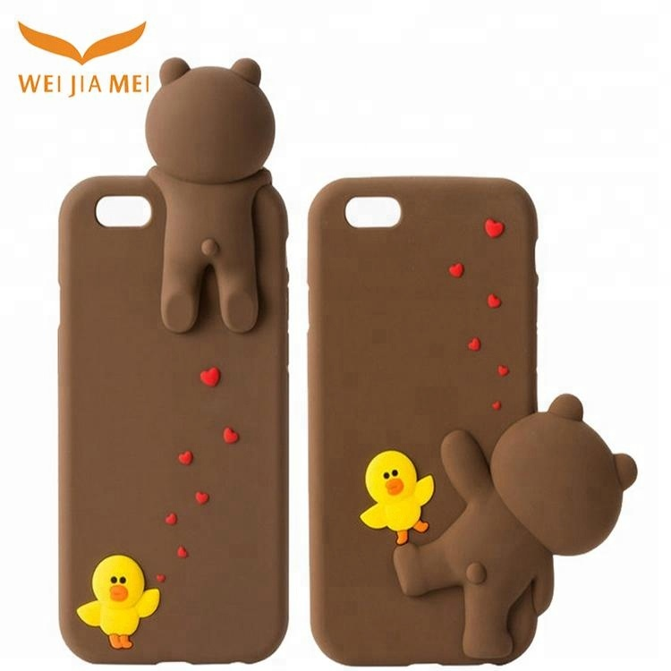 sale retailer 89d72 cd6a3 Korean New Design Silicone Case Cute Bear Cell Phones Cover Case For Iphone  7 Carton - Buy Case For Iphone 7 Carton,Cute Bear Case For Iphone 7 ...
