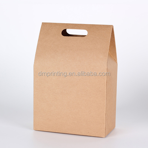 Foldable Kraft paper modern candy boxes