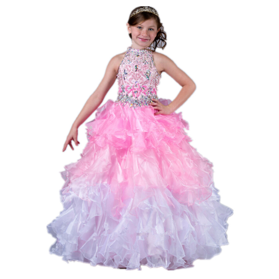 Cheap Silver And Pink Flower Girl Dresses Find Silver And Pink