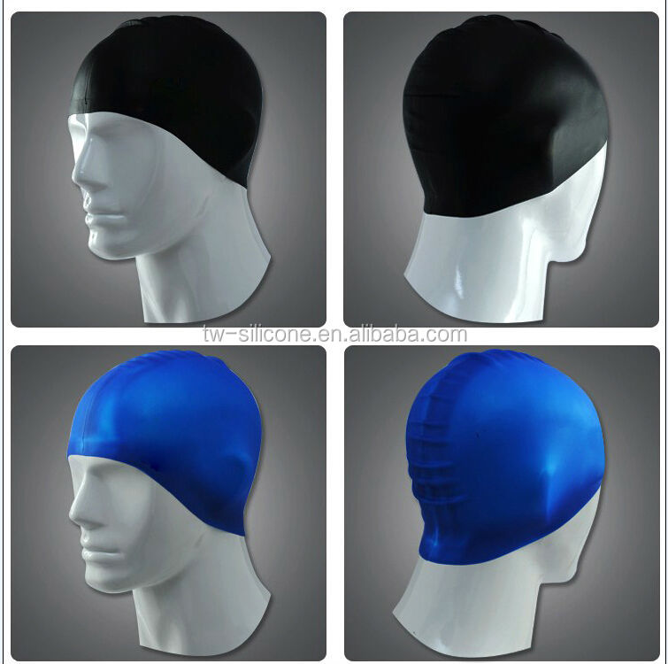 So Cool Swimming Caps Durable Silicone Swimming Caps