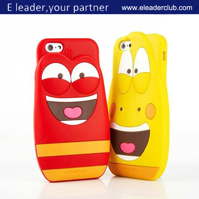 For iphone 6 case cute cartoon 3D face case