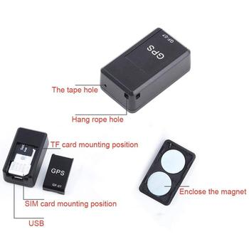 GF-07 Real Time Auto Voice Recording magnetic mini gps locator tracking mini gps tracker