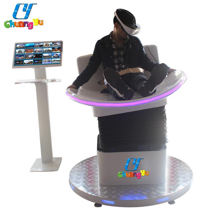 360 degree roller coaster VR motion simulator cinema 9d vr chairs 9d cinema simulator