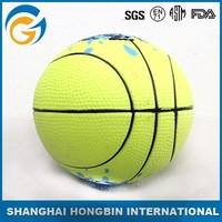 Basket Ball Shaped PU Foam Ball with Logo