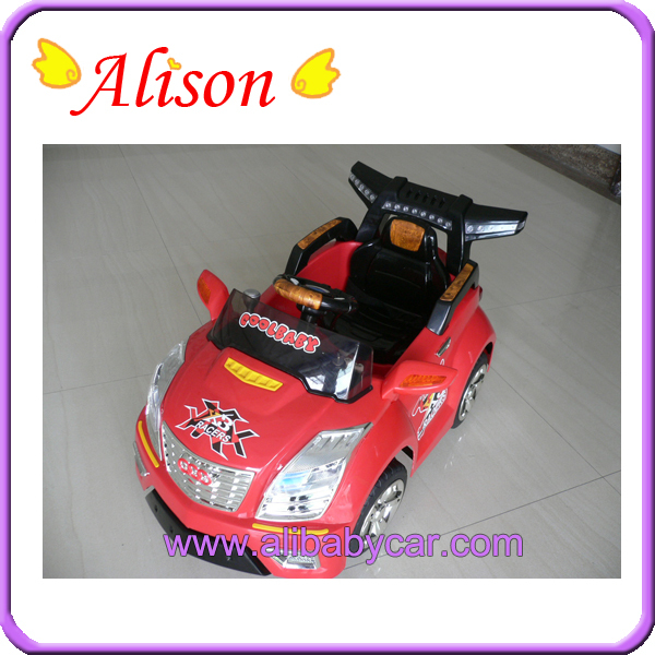 Alison 2014 New C011005 Plastic 2 battery child 12v dc electric car motor