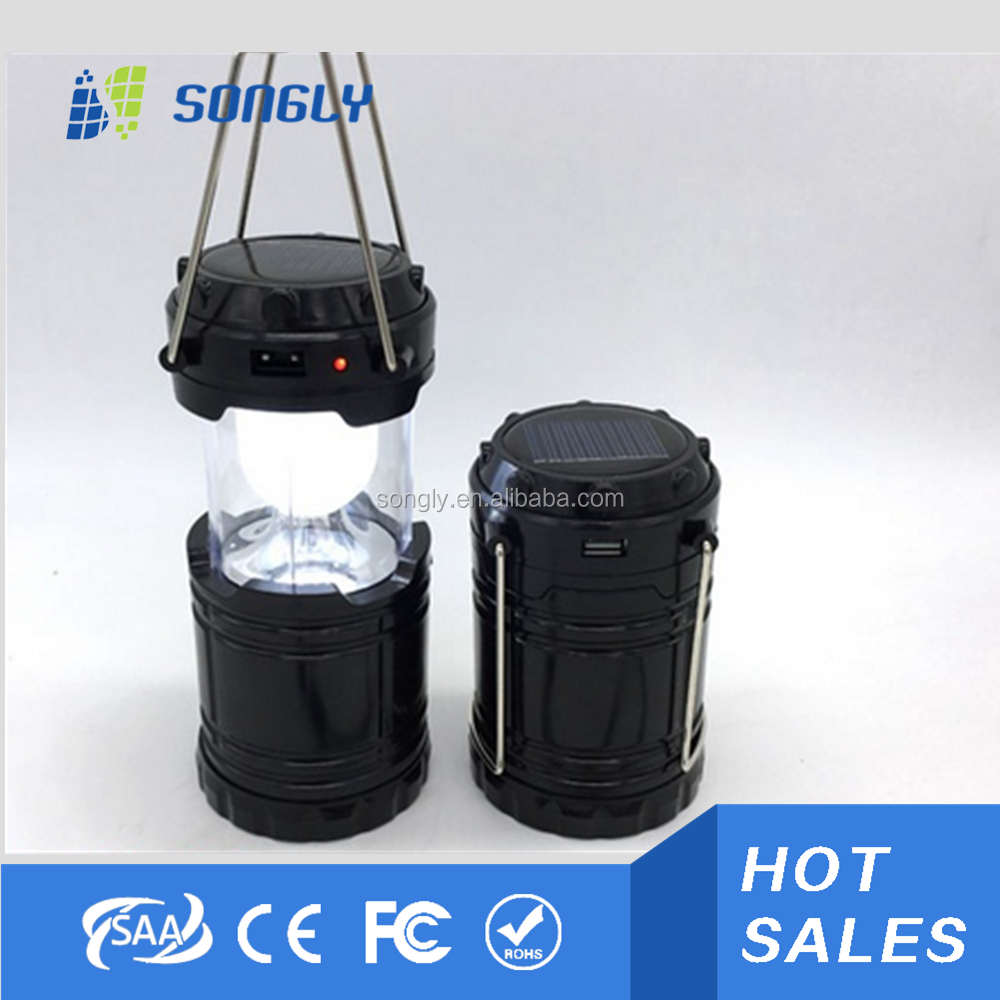 Smd Led Specifications And Camping Usage 6 Led Solar Lantern