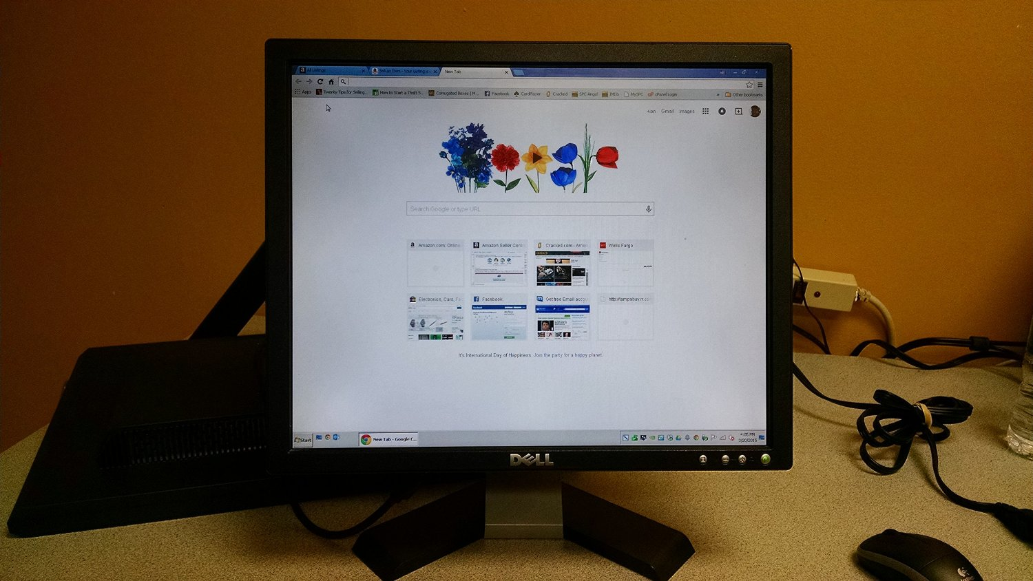 "Get Quotations · 17"" Dell E176FPc LCD Monitor (Dark ..."