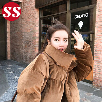 54bbcbd25f9 Winter Warm Velvet Soft Ladies Women Oversize Parka Coat - Buy ...