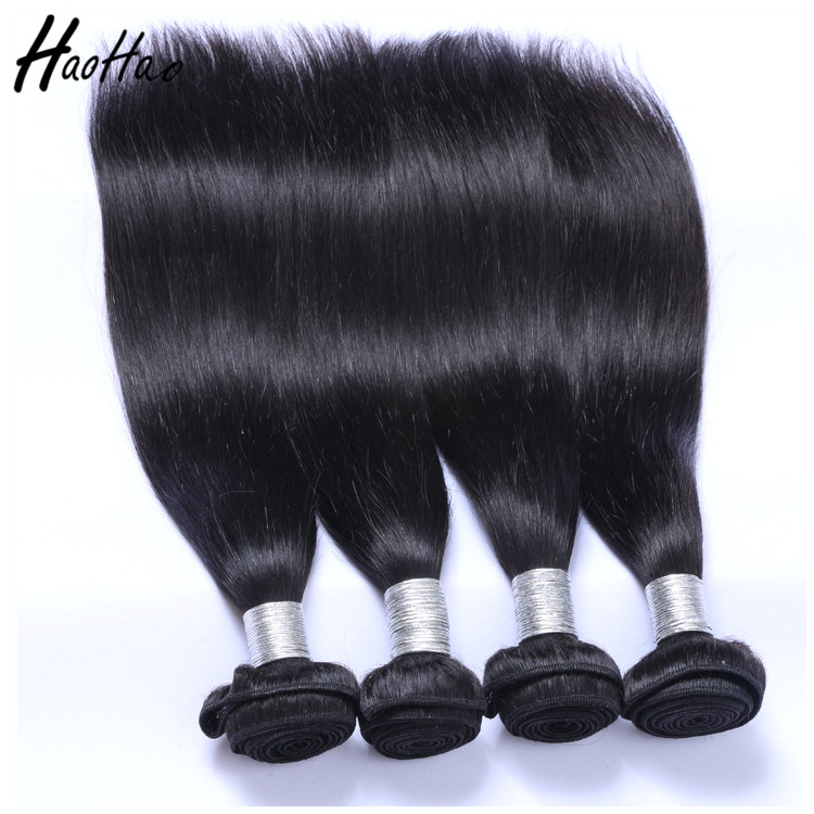 Wholesale Top Quality Natural Color Silky Straight Virgin Brazilian Human Hair Talk Extensions