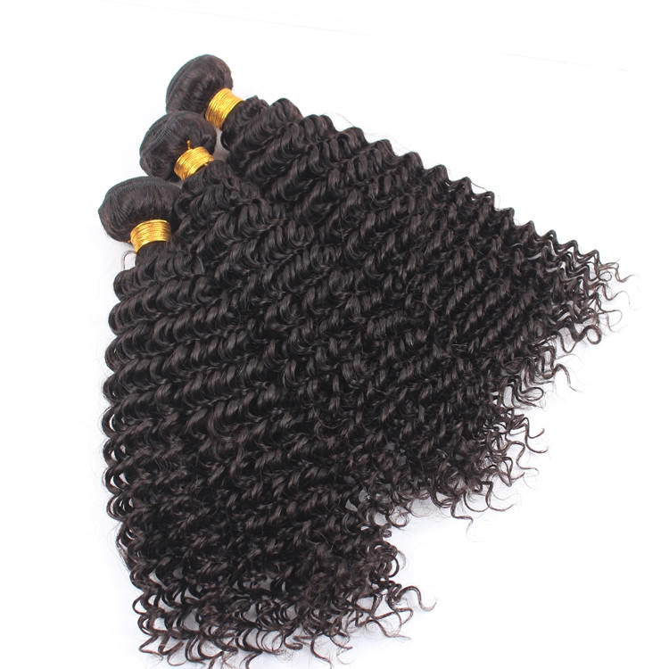 New fashion products top quality natural color real mink kinky curly virgin brazilian human hair