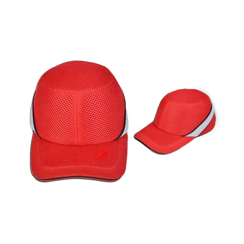 Head Protection Mesh Breathable Abs Shell Insert Safety Helmet Bump ... d5c036cb215c