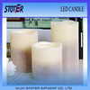 flameless led candle lights/papraffin wax led candle