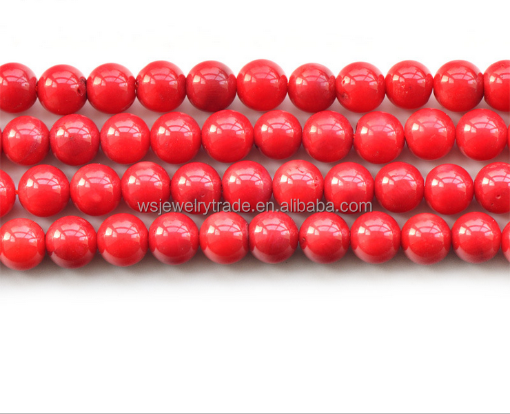 Optimization of coral bead bead Red half finished DIY wholesale direct deal