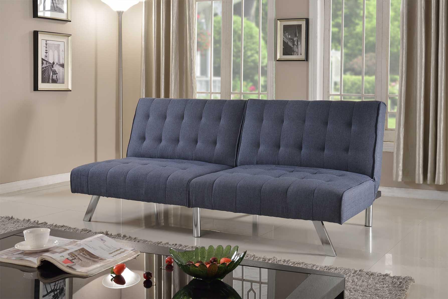 Home Life Linen With Split Back Adjule Klik Klak Sofa Futon Bed Sleeper Convertible Quality