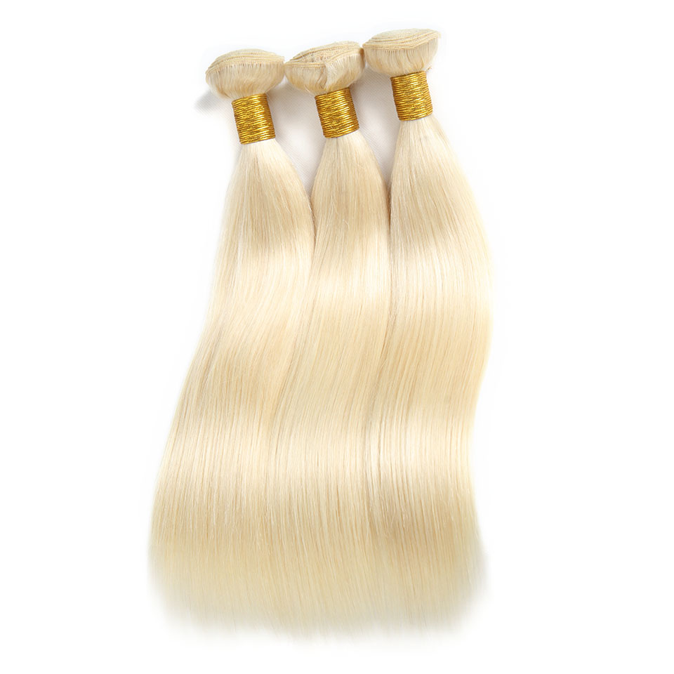 Wholesale Cuticle Aligned 613 Blonde Straight Virgin Human Hair Wave