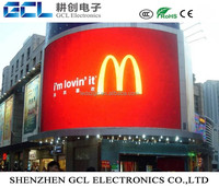 Outdoor IP65 flexible led display P4 P5 P6 P8 P10 P16