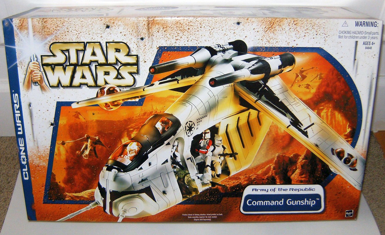 HASBRO STAR WARs REPUBLIC GUNSHIP custom gun 3D Printed clone wars