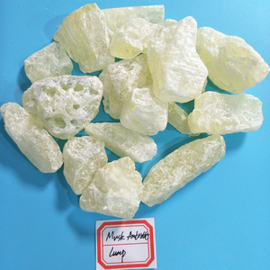 Pale Yellow Crystal Lump Musk Ambrette Used To Make Perfume
