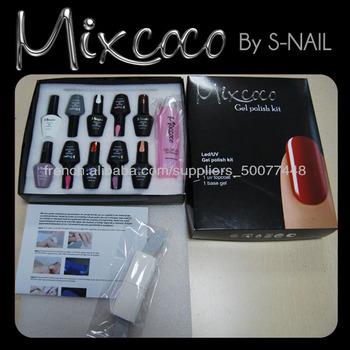 Mixcoco nail art set uv gel nail polish nail file gel polish mixcoco nail art set uv gel nail polish nail file gel polish remover set manicure pedicure prinsesfo Images