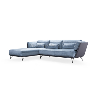 Carelli new design corner fabric sofa sets