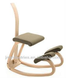 Wooden Ergonomics Kneeling Chair With Backrest Buy Kneeling Chair