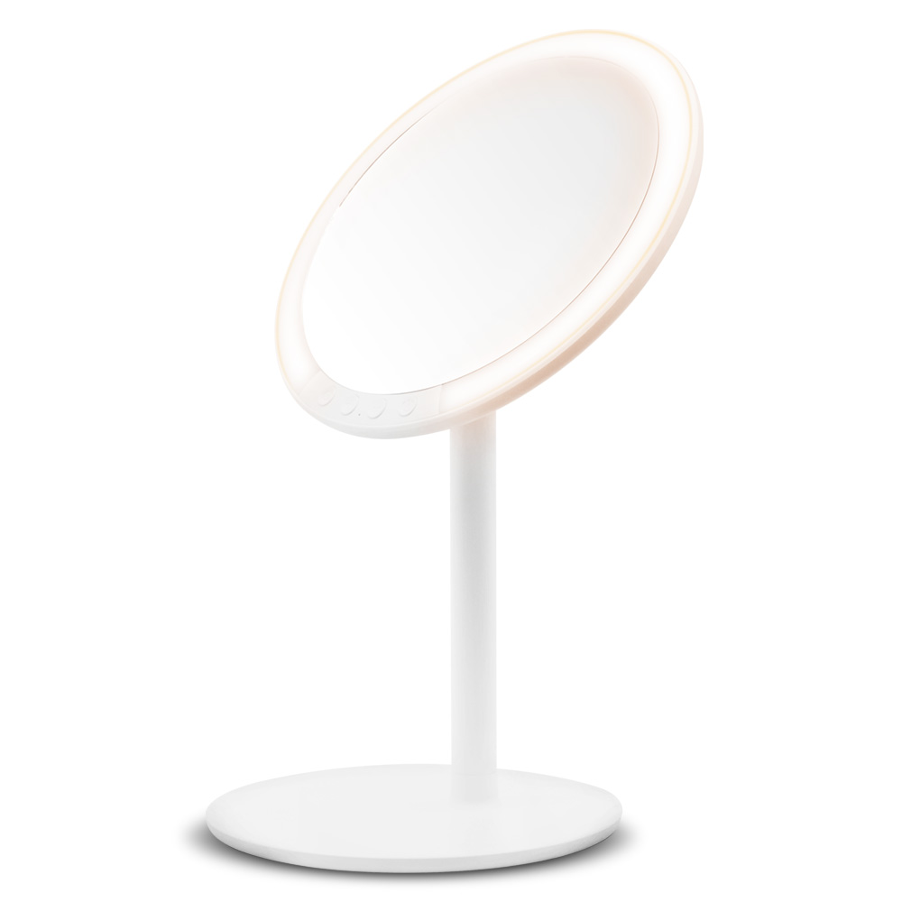 2019 Rechargeable Lighted Makeup Vanity Mirror With 64 Led Lights 7x Magnifying Led Makeup Mirror Buy Led Makeup Mirror Lighted Vanity