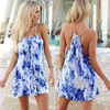 2016 women clothing foral mini dress designs ladies simple fashion dress