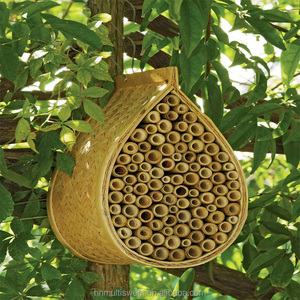 Hot sale bamboo Mason bee house for pet