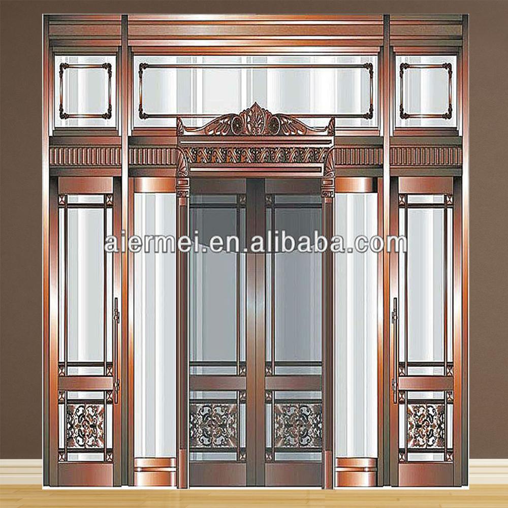 Hotel Front Door: Luxury Hotel Door Design Copper Front Double Door Designs