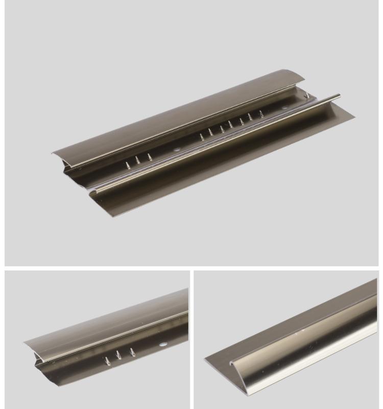 Flat Aluminium Tile To Carpet Transition Piece Threshold