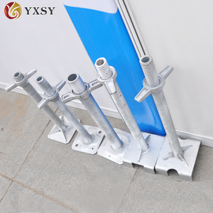 Scaffolding system types of screw jack